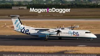Полеты экипажем Bombardier Dash 8 | Опаснейший аэропорт + Смелый кэп | Цюрих - Лугано | Vatsim