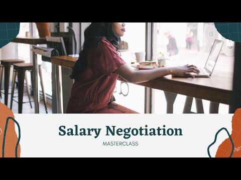 Salary Negotiation - The practical tools in levelling up your earning potential