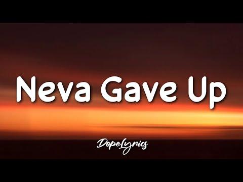 Raw Inked ft. Qnice - Neva Gave Up (Lyrics) 🎵
