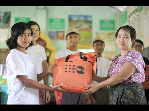 Myanmar Youth volunteering in communities hit by devastating floods