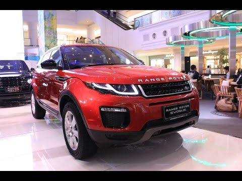 First Impression New Range Rover Evoque 2016