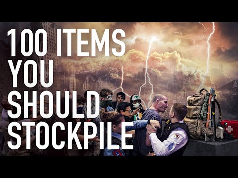100 Non Food Items You Should Stockpile To Prepare For The Imminent Economic Collapse! - Epic Economist Must Video