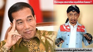 Sindir Lawan Jokowi, Abu Janda: Mereka Nyablon Kaus karena Belom Tahu yang Mau Nyalon Siapa