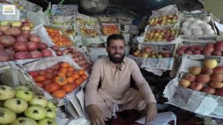 Pakistani Fruit Vendor Says He Is In Paradise  4K Video