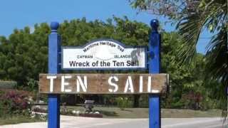 preview picture of video 'Grand Cayman - Wreck of the Ten Sail HD (2012)'