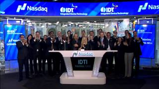 IDT Nasdaq Opening Ceremony - February 2017