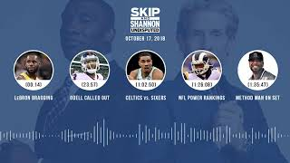 UNDISPUTED Audio Podcast (10.17.18) with Skip Bayless, Shannon Sharpe & Jenny Taft | UNDISPUTED