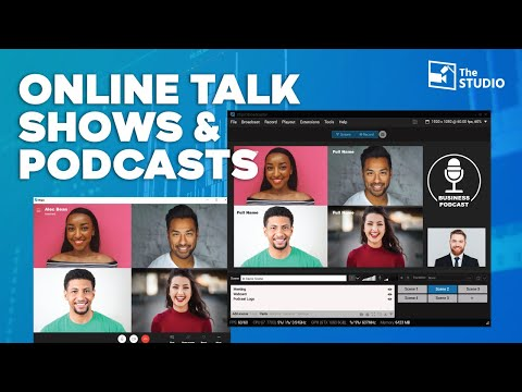 How to do Online Talk Shows or Podcasts