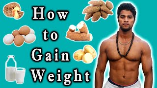 How To Gain Weight Naturally?? | Gym Foods For Weight Gain | Tamil | Aravind RJ | Udarpayirchi