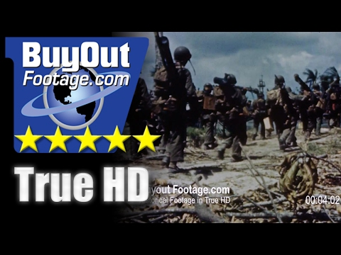 HD Stock Footage WWII U
