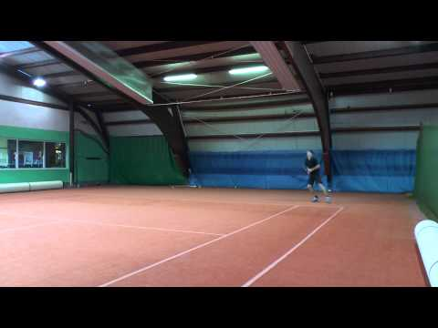 Tennis college recruiting video - Jan Jirus