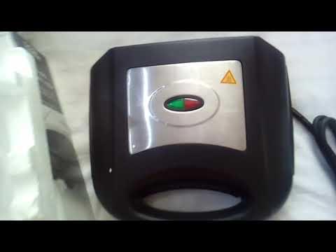 £8 GST301B-18 Sandwich toaster George Home🍞👍