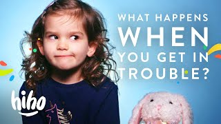 What happens when you get in trouble? | 100 Kids | HiHo