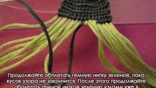 Хенд мейд, фенечки, кумихимо, Как плести фенечки прямым плетением