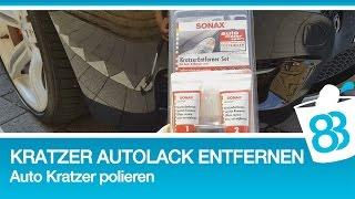 Kratzer im Autolack entfernen Auto Kratzer polieren metoo 83