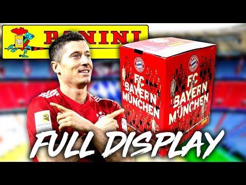 FULL DISPLAY 😱🔥 Panini FC BAYERN MÜNCHEN 18/19