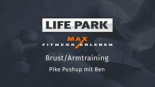Training mit Ben 08 – Brust/Arm – Pike Pushup