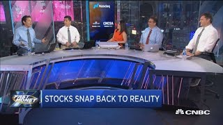 Stocks snap back to reality as October fear rears its head in November