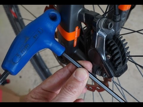 How to Center Hydraulic Disc Brakes