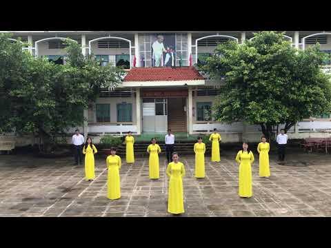Bài thể dục giữa giờ Của thầy cô trường thcs xã Lâm Hải