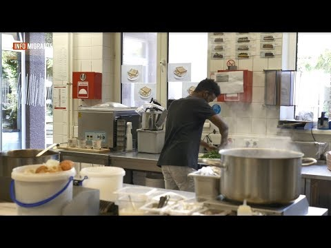 The Magdas Hotel in Vienna employs and trains migrants and refugees from over a dozen nations