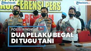 Polrestro Jakarta Pusat Ringkus Dua Pelaku Begal di Tugu Tani: Korban Ojek Online Rugi Rp31 Juta