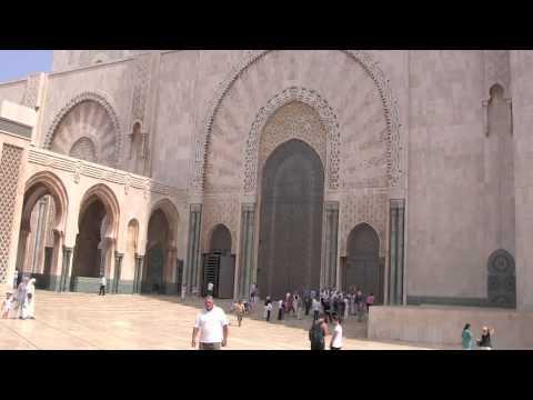 De moskee Hassan II