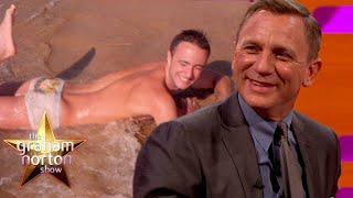 Daniel Craig Reacts To Audience Members Best James Bond Photos!   The Graham Norton Show