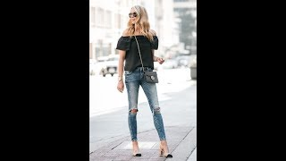 Best Casual Chic With Jeans