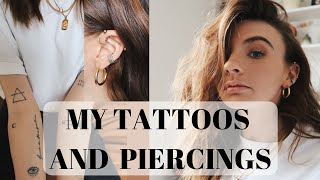 MY TATTOOS & PIERCINGS | Chloe Hayward