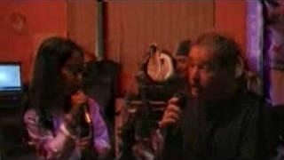 Miriya and Michael Bradley singing UNDERGROUND