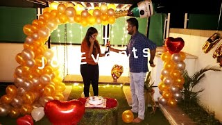 How To Surprise Wife On Her Birthday At Home, Best Birthday Surprise Ever, Romantic Room Decoration