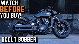 Watch BEFORE You Buy! 2020 Indian Scout Bobber Demo Ride, Review, Impressions