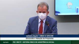 Discussão e Votação de Propostas - 05/10/2021 10:00