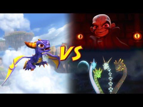 Skylanders Spyro's Adventure | Spyro VS Kaos