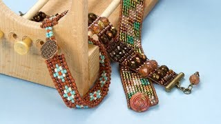 Artbeads Tutorial - The Ricks Beading Loom Basics With Cheri Carlson