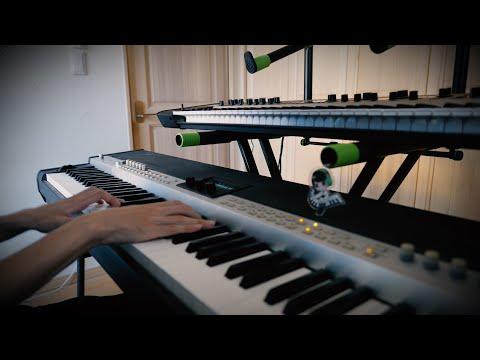 【炎炎ノ消防隊 ED】須田景凪 - veil 弾いてみた【キーボード】Piano Cover