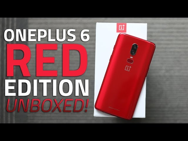 OnePlus 6 Red Edition Launched at Rs  39,999, Releasing in
