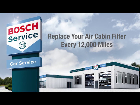 Bosch HEPA Premium Cabin Air Filters on The Balancing Act