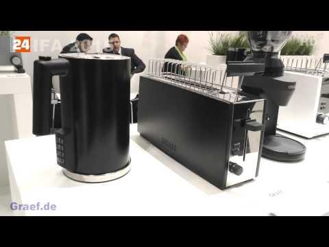 IFA 2015 Graef  Wasserkocher WK 701  - Toaster  TO 92