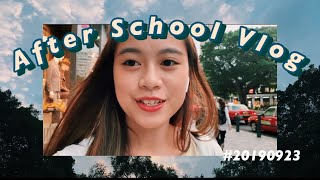 💛After School Vlog📚剪片果陣會...?🤪 自己係屋企染髮?👩🏼🦰| Agnes Yue🐨