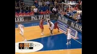 Qyntel Woods vs CSKA Moscow 2008 Euroleague playoffs