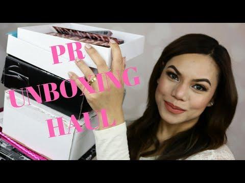 PR Unboxing Haul ELLAsDaily