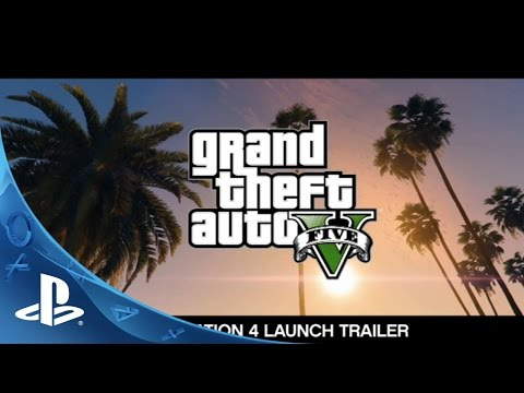 grand theft auto five for playstation three