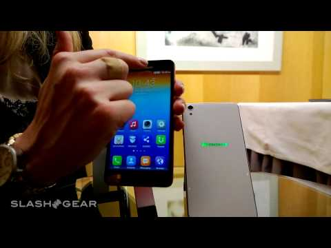 Lenovo S850 smartphone hands-on