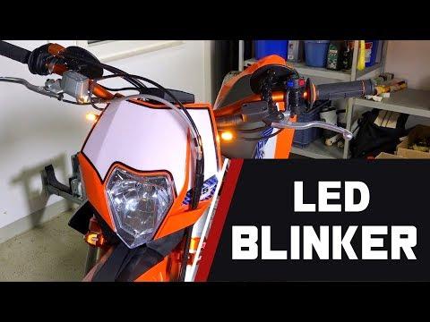 SD // Part 11 - LED-Blinker // KTM 530 EXC SUPERMOTO UMBAU