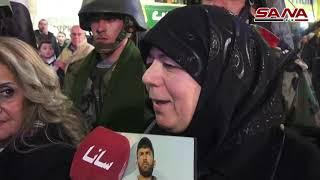 تكريم عدد من أمهات الشهداء في حلب