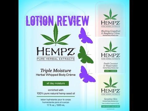 HEMPZ | Herbal Body Moisturizers REVIEW | VEGAN Skincare