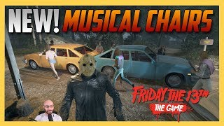 NEW: Musical Chairs Mode! - Friday the 13th The Game   Swiftor