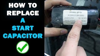 How to Replace a Start Capacitor